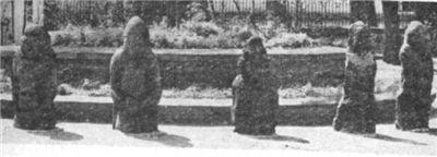 Каменные бабы. Надгробные статуи